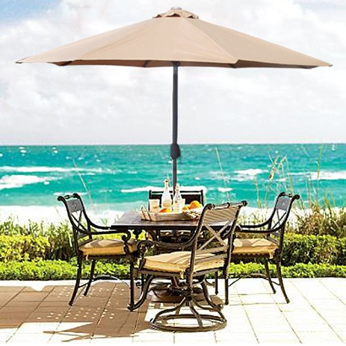 Patio Table Umbrellas - The 5 Best Patio Umbrella Styles Umbrellify.net