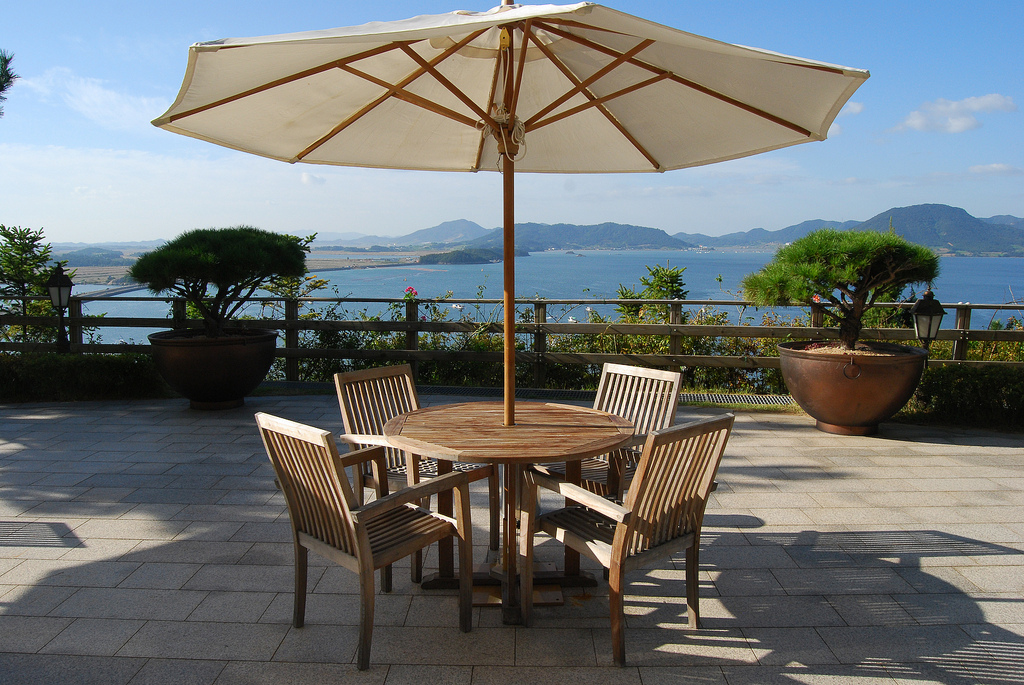 tips for buying a patio umbrella